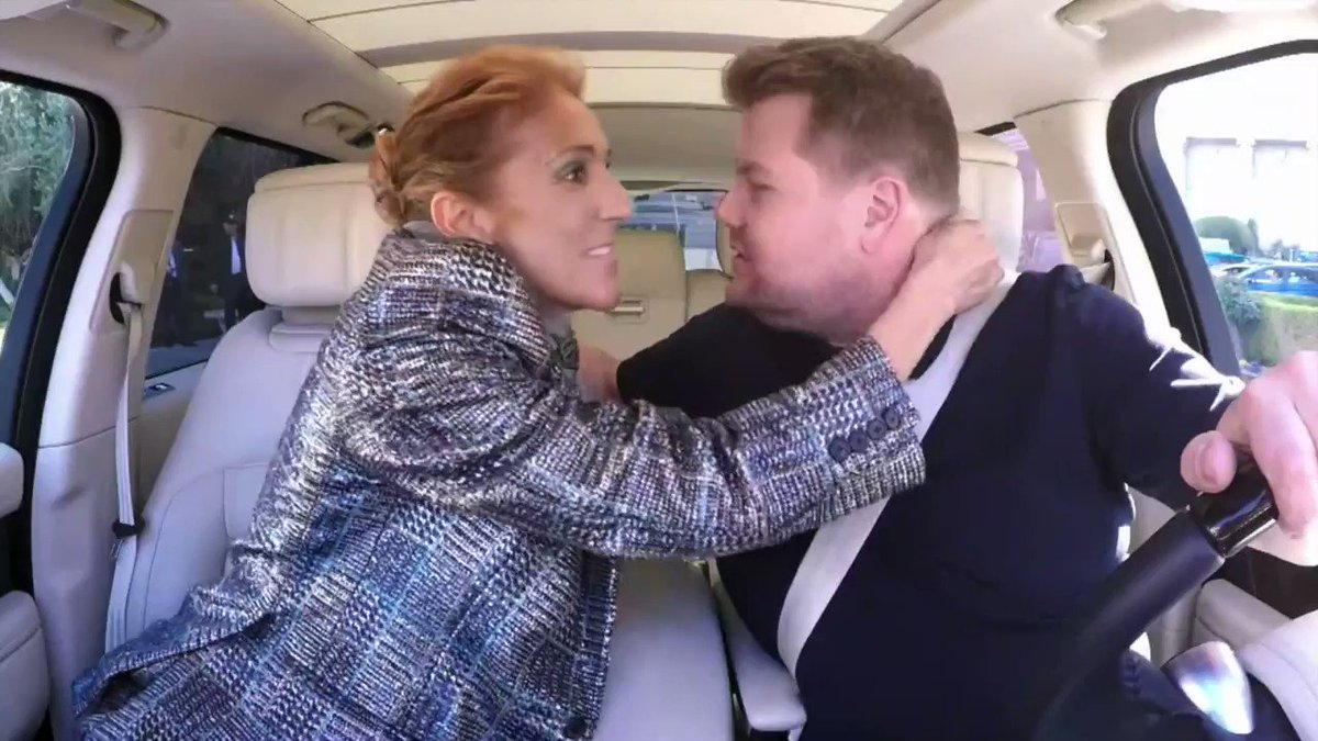 """Céline Dion's """"Carpool Karaoke"""" Is Hilariously Extra And You Have To See It"""