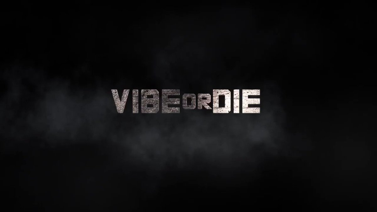 Image for the Tweet beginning: VIBE or DIE is live!