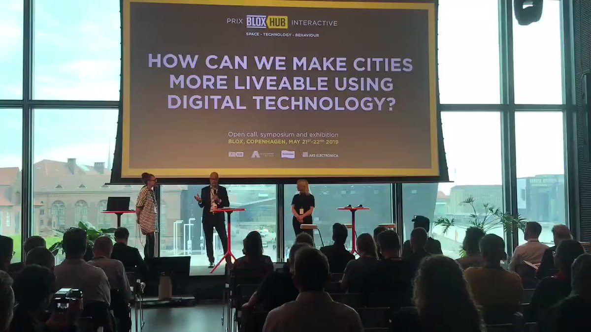 How can we make cities more liveable using #digital #technology? Today we are welcoming guests from near and far to discuss this crucial question at the BLOXHUB Interactive Symposium@prixbloxhub @Realdaniadk @ArsElectronica @AlexandraInst
