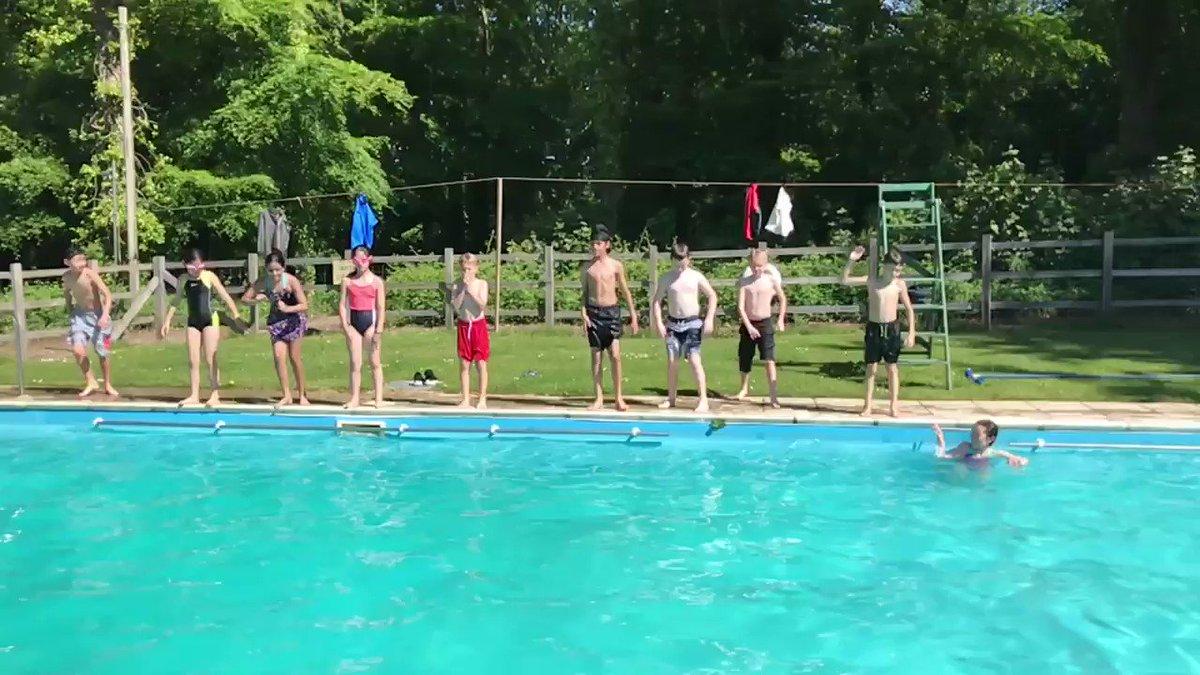 Fun time in the pool! #swimming
