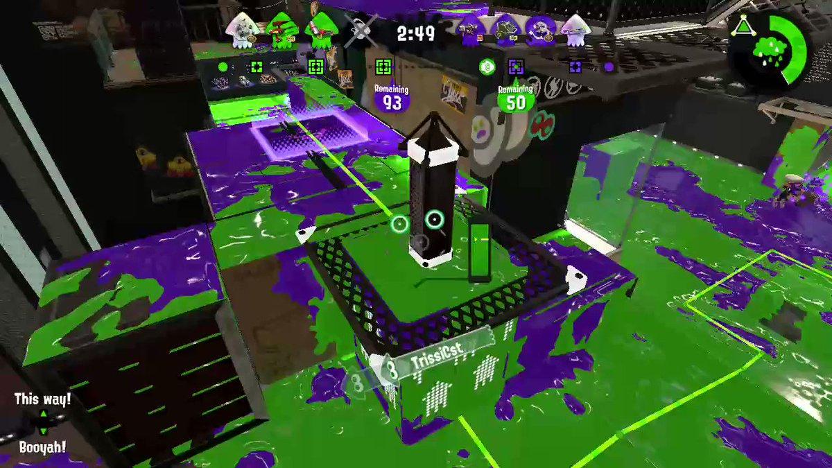 #Splatoon2 #NintendoSwitch #X-rank