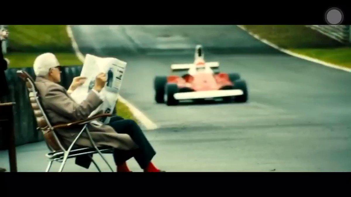 RIP Niki Lauda. Scene taken from Hunt-Lauda biopic movie Rush (2013)