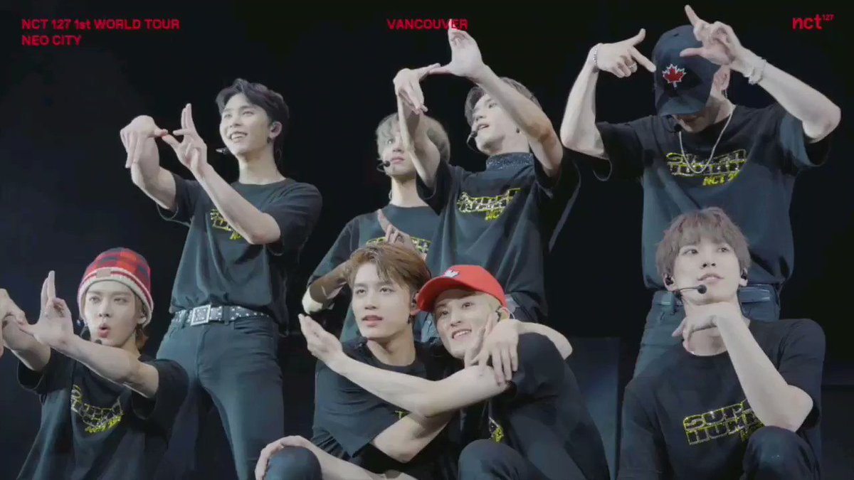 NCT 127 TAKES VANCOUVER : 1ST WORLD TOUR _NCT 127 TO THE WORLD #NEOCITYinCANADA #NCT127inCANADA #NCT127TOTHEWORLD #VANCOUVER NCT 127 〖 #SUPERHUMAN 〗 Music Release ➫ 2019 05 24 #WE_ARE_SUPERHUMAN #NCT127_SUPERHUMAN