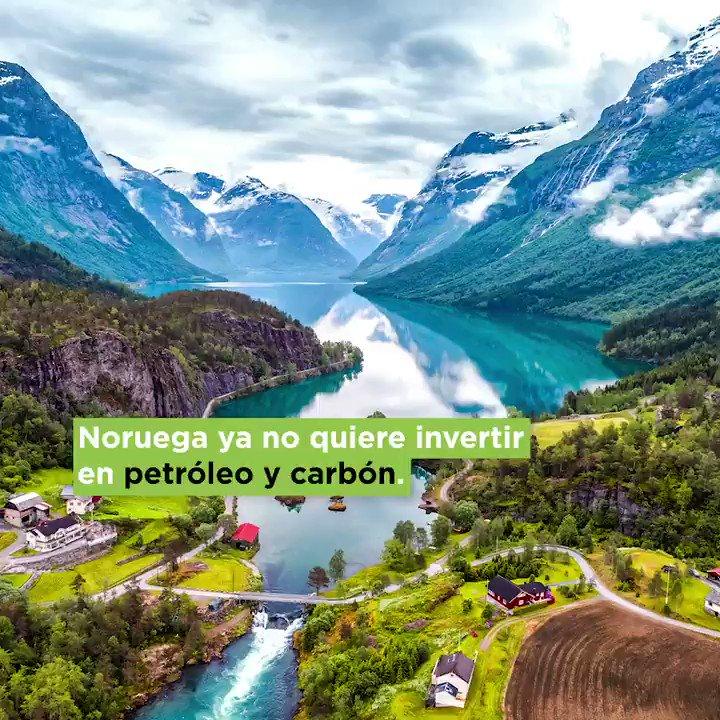 Noruega ya no quiere invertir en petróleo y carbón.Video: @el_BID