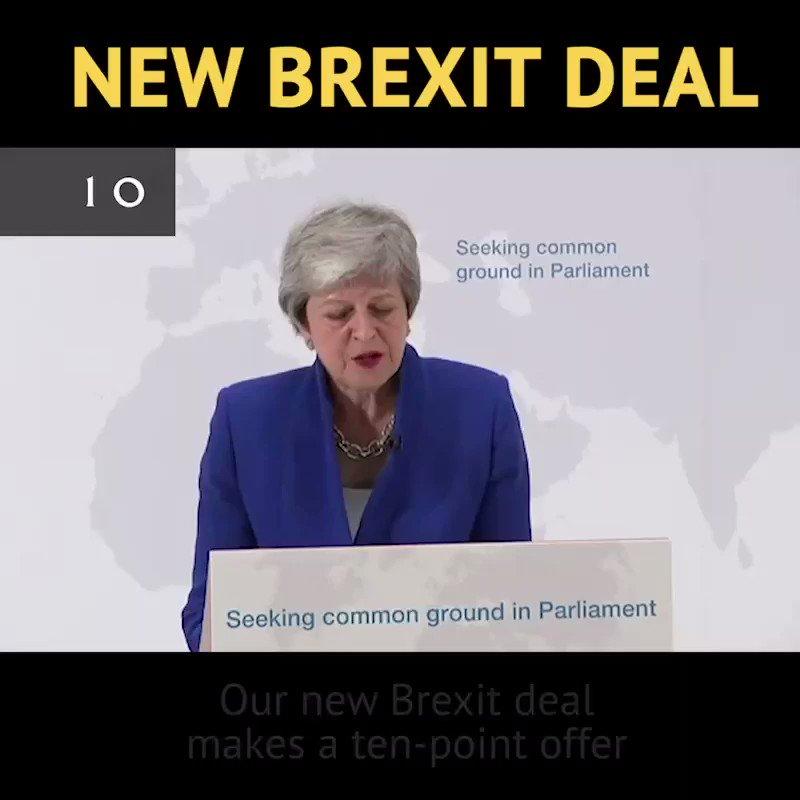 Theresa May's photo on referendum