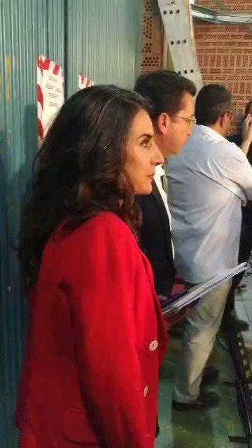 Ya está @Irenirima dentro del debate #ExtremaduraDecide #ExtremaduraDebate #PorUnFuturoAquí #IrenePresidenta