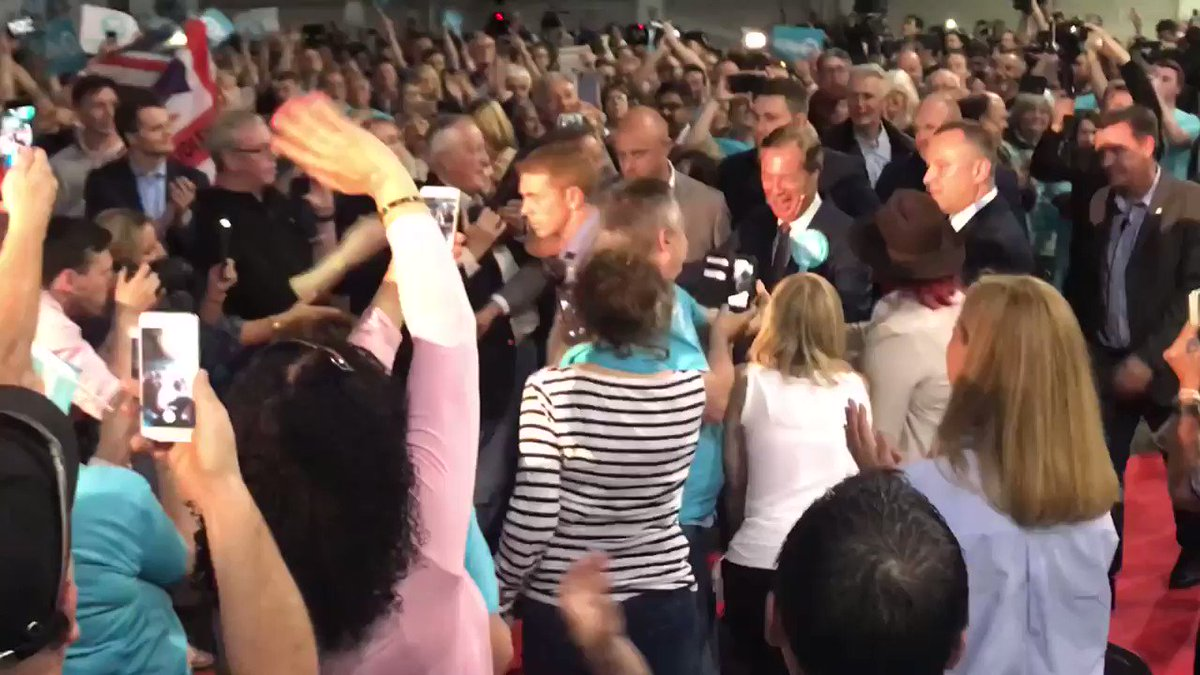 Well, it's the first time I've ever been to a political rally. All I can say is it was truly amazing. I'll be Voting @brexitparty_uk on Thursday. Hoping to #ChangePoliticsForGood