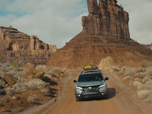In the all-new #HondaPassport, you can do more than Like the adventure. You can live the adventure. #300ftChallenge