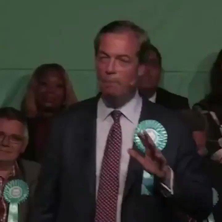 Vicky's photo on Farage