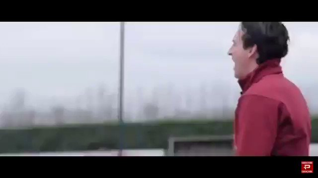 Emery when Cech walked into training this morning