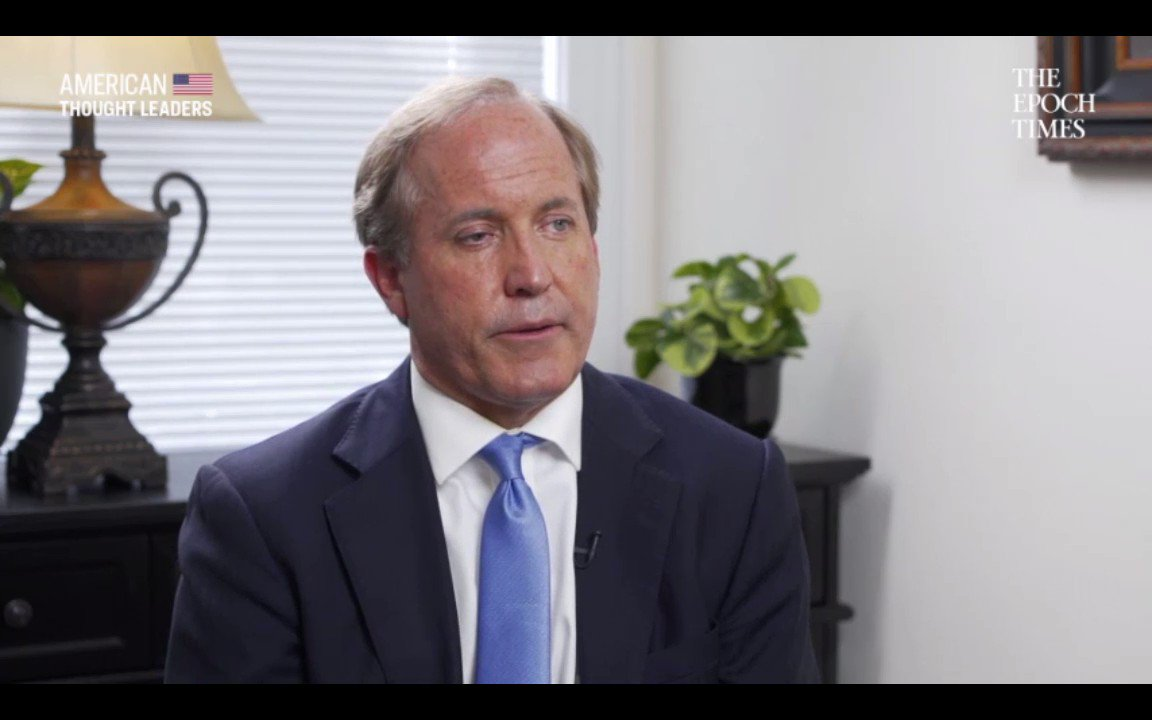 🔴 Premiering 8:30pm ET: youtu.be/mwZgQQkri0E The more porous our border is, the more of a problem it is. Were the second worst state in the country for human trafficking. #Texas AG @KenPaxtonTX discusses the #BorderCrisis | American Thought Leaders 🇺🇸 by @EpochTimes