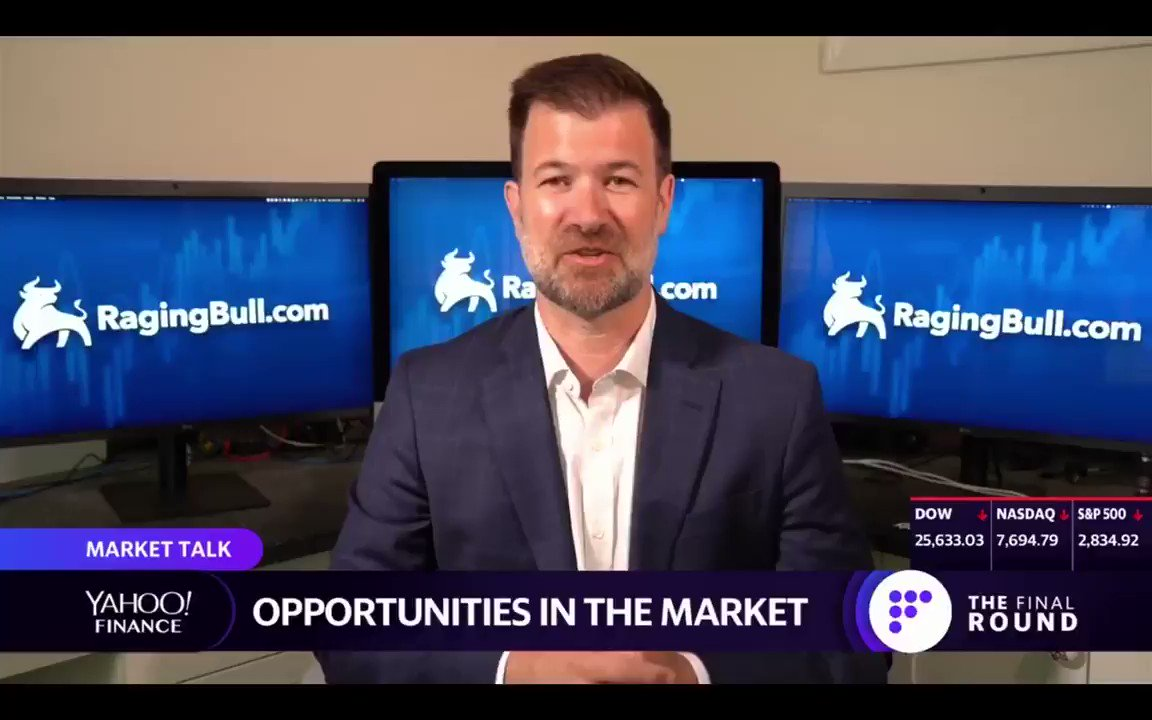 Image for the Tweet beginning: RagingBull CEO, Jeff Bishop, discusses