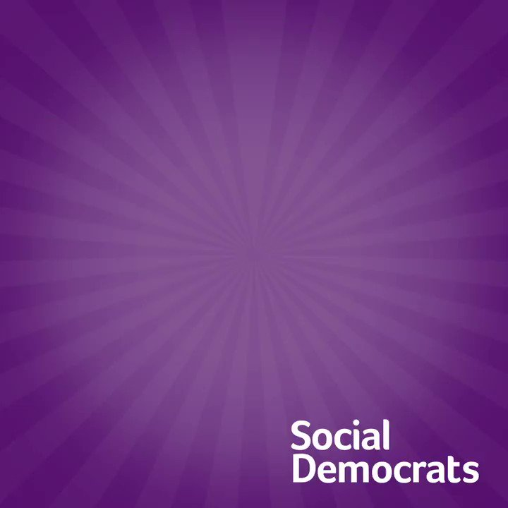 Image for the Tweet beginning: Vote #SocDems #VoteGenerationYes #LE19 #Ivoted