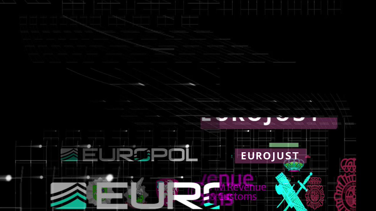 Image for the Tweet beginning: Europol coordinated an operation involving