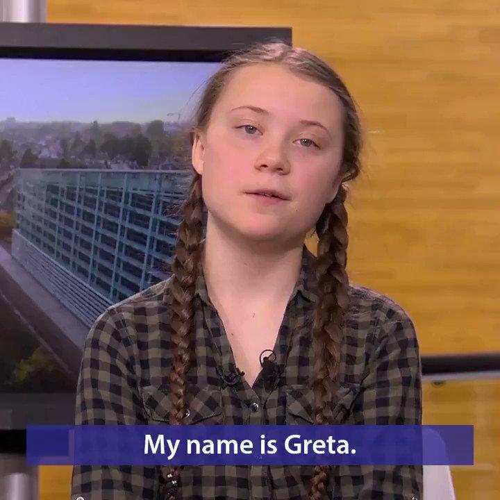 """europeangreens в Twitter: """"Teen climate activist ..."""