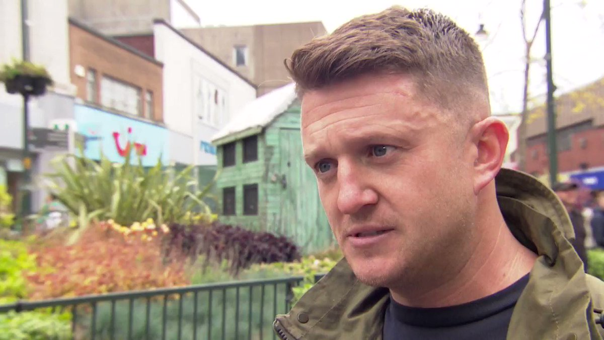 'There's nothing you can do as an MEP' - I asked Tommy Robinson (Stephen Yaxley-Lennon) what he wants to achieve if he's elected to represent the North West in the European Parliament @GranadaReports: