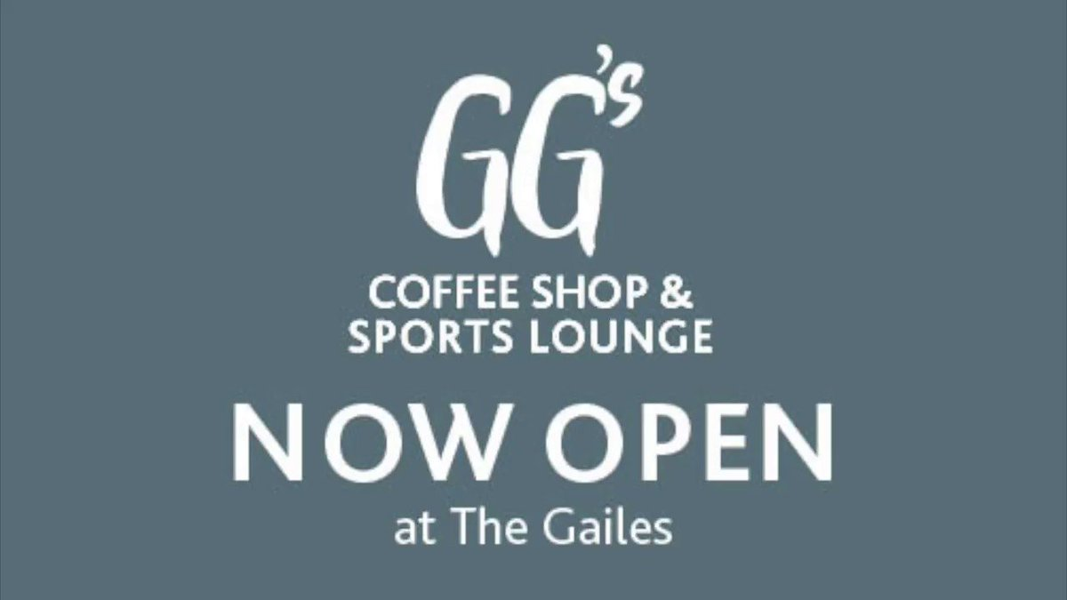 We are NOW OPEN!! Join us at our new coffee shop and sports lounge @GailesHotel A destination for all the family, GG's offers a tasty menu throughout the day, great coffee and cake, relaxed seating and coffee shop, games' suite and golf simulator and large screens for live sports https://t.co/5PHqFX5NB1