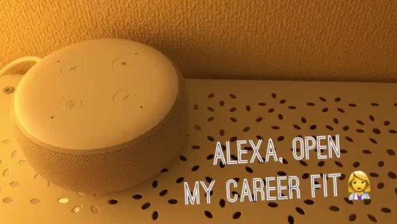 【US Alexa Skill Index No.79 : My Career Fit】業務別の求人情報を聞けるスキル。録音音声がラジオみたいで良いです。転職が活発なUSだからこそ、こういうスキルの出番がありそう。Flash briefingやカード対応など今後工夫する余地もあり。#AlexaSkillsUS#AmazonEcho