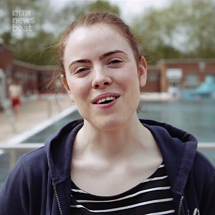 'Once you get over the initial shock you start to feel relaxed.'Eimear goes cold water swimming to relieve the pain from her migraines Watch more in 'Migraines: More Than a Headache' http://bbc.in/2wf81b4#GetInspired @BBCNewsbeat @BBCiPlayer @BBCR1