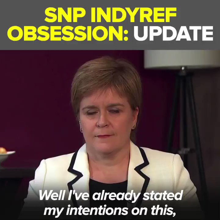 Sturgeon has used Brexit as an excuse for pursuing #IndyRef2 for the past three years.  In tomorrow's elections we need to send her a message.