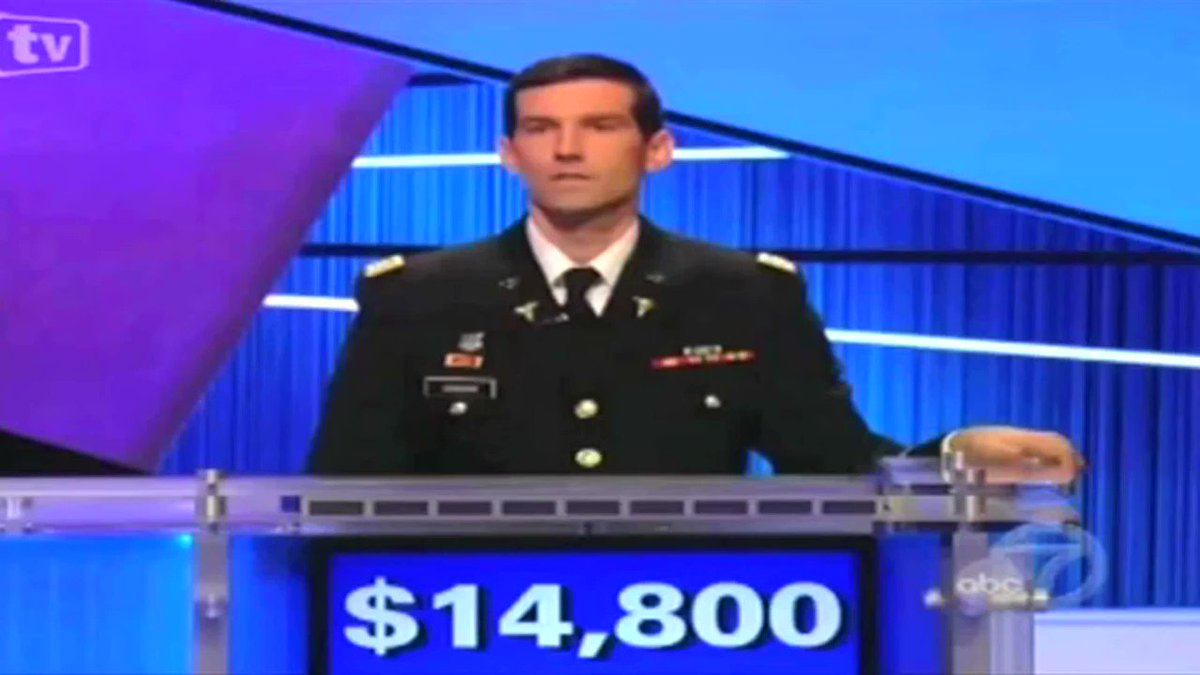 This remains a funny Jeopardy moment: