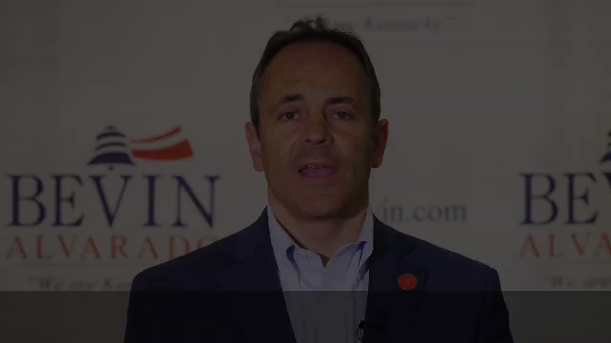 .@GovMattBevin releases his first ad for the general election. He ties opponent @AndyBeshearKY to @PPFA @ACLU and @HillaryClinton #Decision2019 https://t.co/3B9tB3bfK1
