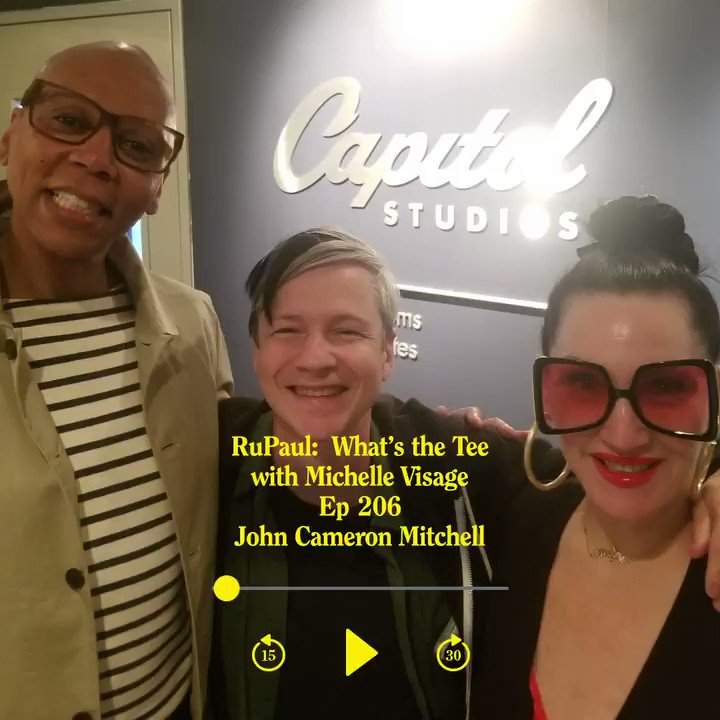 .@RuPaul and @michellevisage got a sample of some of @AnthemPod's jokes in an all-new What's The Tee? with John Cameron Mitchell, now playing on #Luminary: http://bit.ly/2VWs6Cb