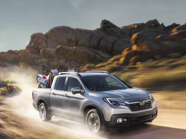 Like its Baja Racing sibling, the Ridgeline is not to be messed with.