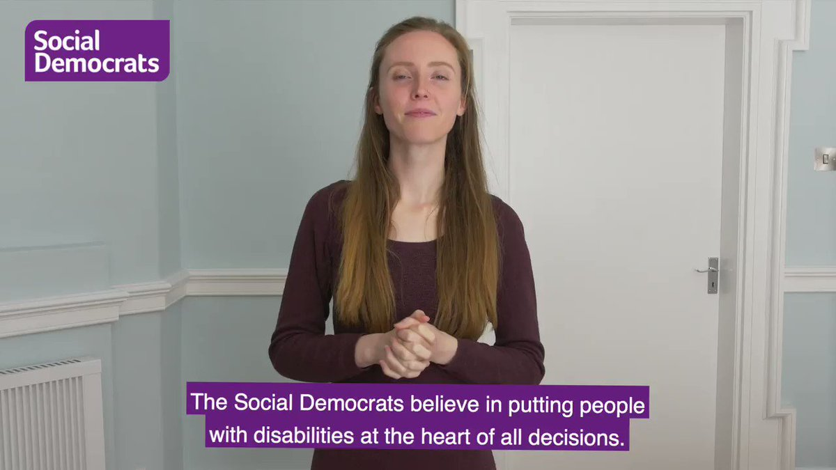 Image for the Tweet beginning: #SocDems want to put people