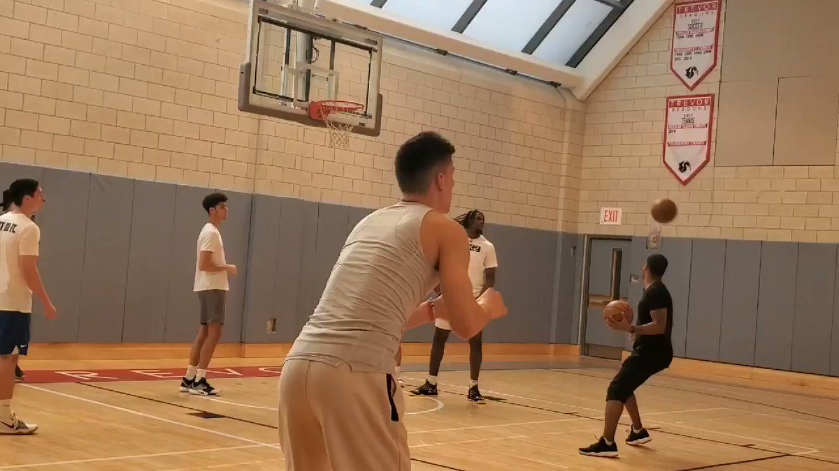 Kentucky's Tyler Herro scorching the nets In NYC as he prepares for his Pro Day tomorrow.