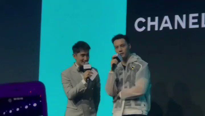 William Chan  Event 190522 #CHANEL annual conference in Shanghai Like a fan meeting #williamchanwaiting #Williamchan