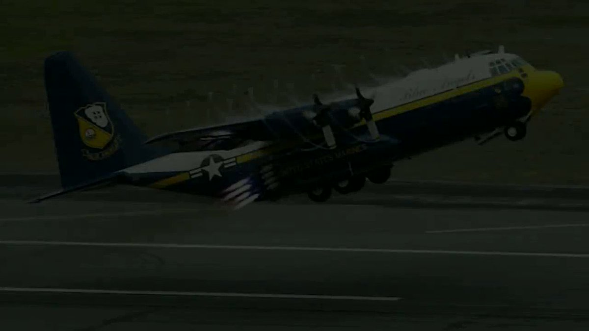 It's a bittersweet day for us as we say our final farewell to our venerable C-130T, Fat Albert. Fat Albert has served the Blue Angels honorably the past 17 years, and represented the United States Marine Corps to millions of fans.