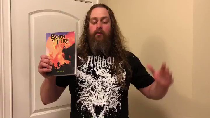 My new book Born of Fire: Beneath a Burning Sky, is now available! @spaldingarts #bornoffire #dinosaurs #dragons #DungeonsandDragons #dnd #fantasy #恐竜 #竜 #ファンタジー #サイエンス・フィクション https://t.co/comGb3IZkW  Andrew Spalding Website: https://t.co/DCALZ5FSgb