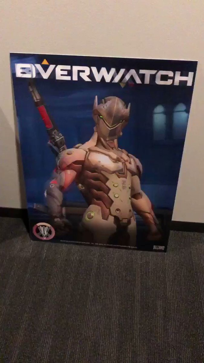 There's some old Overwatch Retribution posters of the Blackwatch team laying around in the hallways at the office. We must be framing them up soon. I love the transitions.