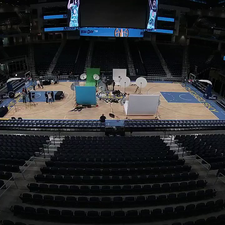 📹 #skytown Media Day in under 20 seconds! ⏱  S/O to @WintrustArena for a flawless 2 days of action. From the @chicagosmayor , @LightfootForChi inauguration to Sky Media Day. Thank you! 🙌