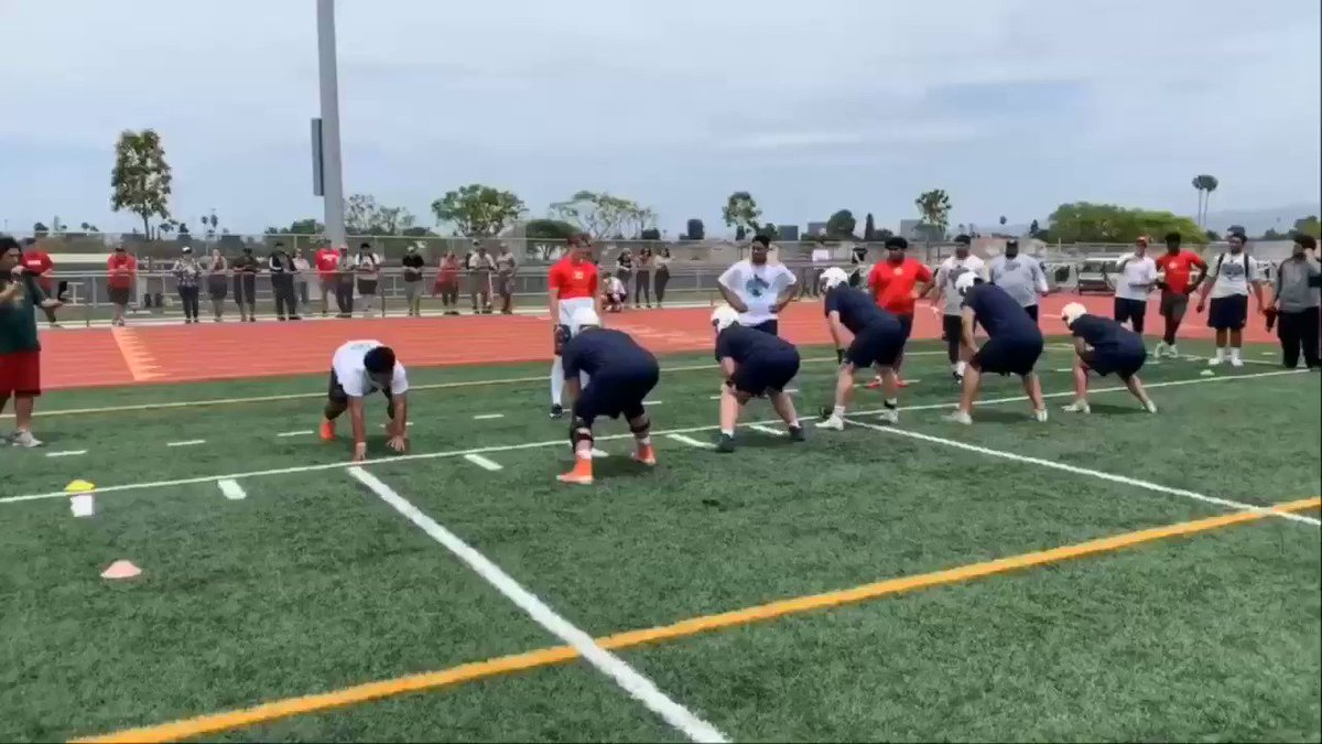Had some great reps  at the 2019 @SuperLinemen competition. To be the best you have to beat the best. So proud of the heart shown by the @TesoroFootball squad to capture 3rd place. @sapoluMITT @jessesapolu @GregBiggins @RyanWrightRNG @BrandonHuffman @bangulo