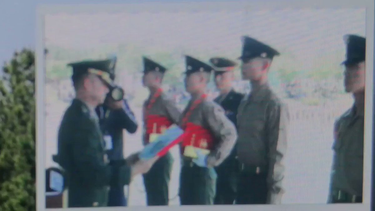 Ming placed 3rd amongst 1100 other soldiers. That is such and incredible feat. So proud of you