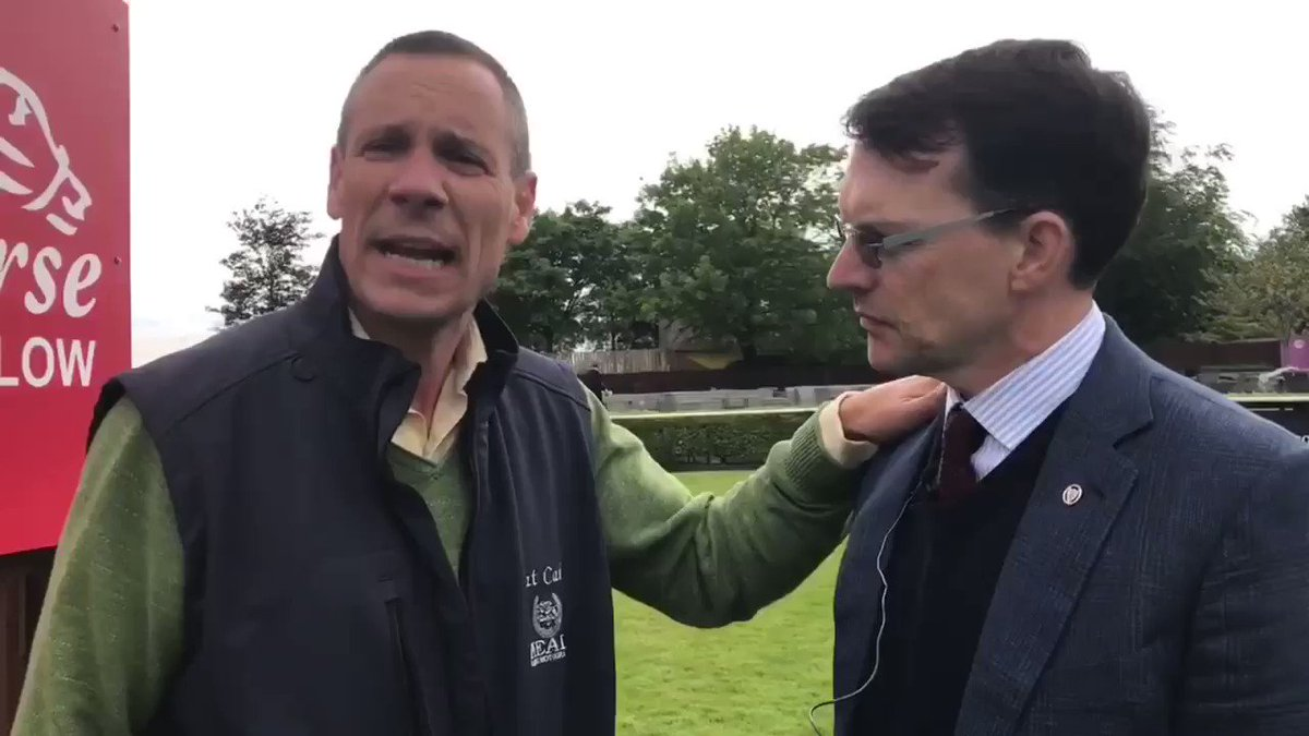 📺 @patcashhealy is joined by the masterful Aidan O'Brien to get the latest update on all his runners on Irish Guineas weekend @curraghrace 🐎🏆