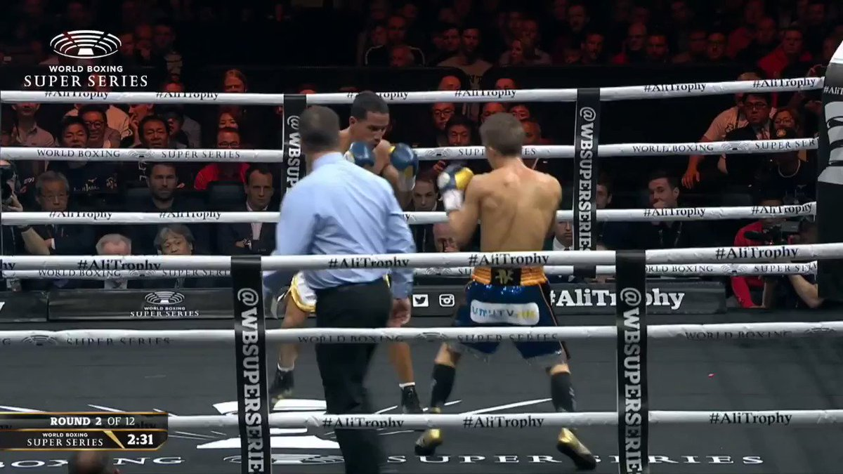 🎥 What a performance by @naoyainoue_410! 🔥🔥🔥  🔢 Where is he in your P4P list? 🤔  #InoueRodriguez 🏆 #AliTrophy