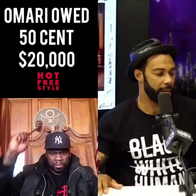 This guy @OmariHardwick is the truth He's a man of his word. you other niggas best be coming up with my money by Monday. #lecheminduroi #bransoncognac #bellator