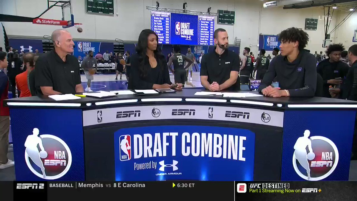 What makes Jaxson Hayes the best roller/finisher in the draft? Where can he still improve? Breakdown from the NBA Draft Combine.