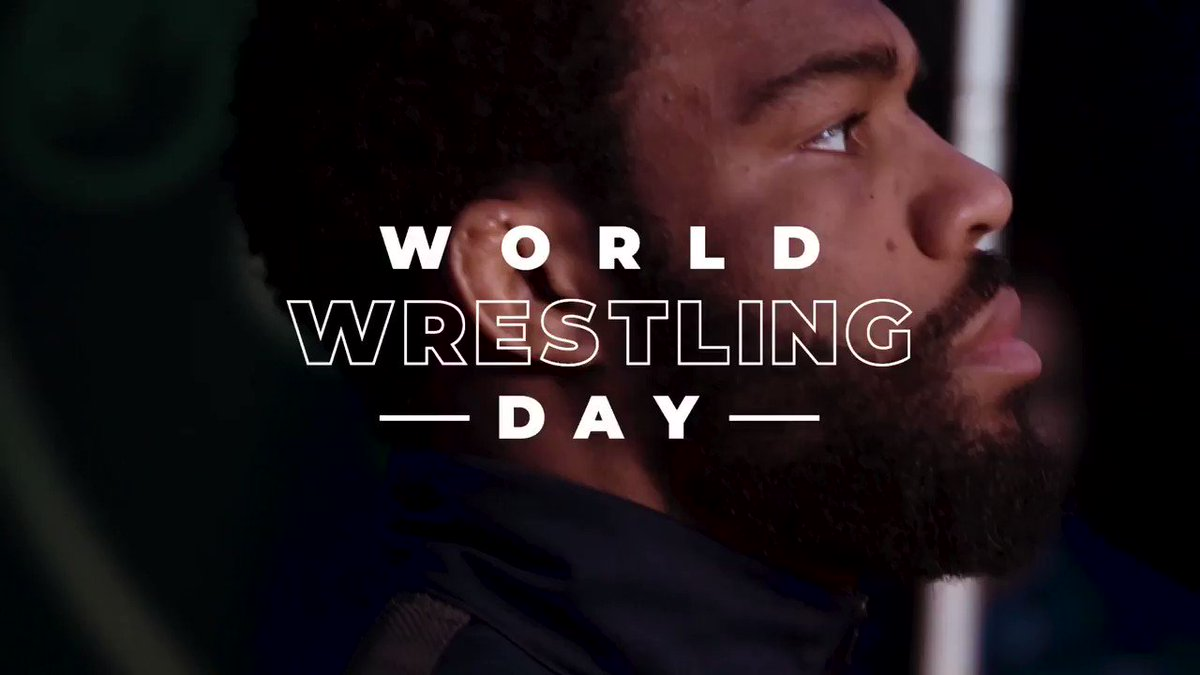 """Happy World Wrestling! Today is """"For the Wrestlers!"""""""