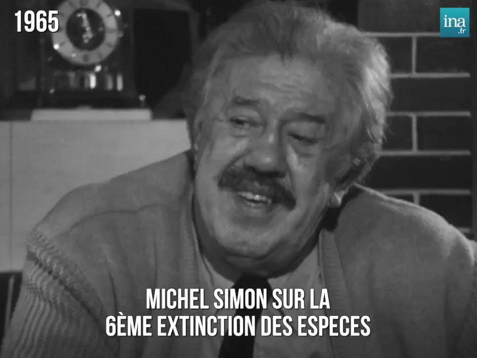 Nous sommes en 1965, Michel Simon, son chat entre les bras, évoque l'avenir, lentement, presque tranquillement... En fait, il parle de nous, ici et maintenant. Chacun de ses mots pèse une tonne... Nous n'avons rien vu, rien entendu... c'est saisissant.