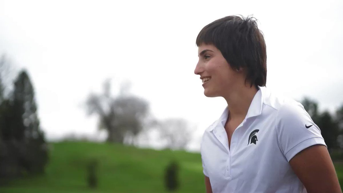 Inspired by the support of @msuwomensgolf and the East Lansing community while she fought cancer, recent #Spartan graduate Jacqueline Setas is now helping others at @SparrowHospital through Spartan Buddies.   🎥 : @msuwomensgolf