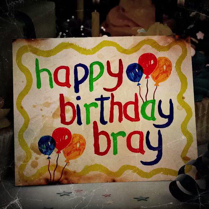 Happy Birthday Bray Wyatt!!!   Keep up the freaky shit.