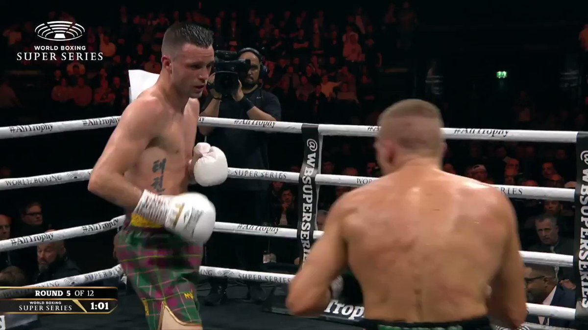 🎥 Highlights of @JoshTaylorBoxer vs @IBaranchyk! 🔥🔥🔥  🏴🌪️ The Tartan Tornado dropped the Belarusian twice on his way to a UD win!!  #TaylorBaranchyk #AndTheNew 🏆 #AliTrophy