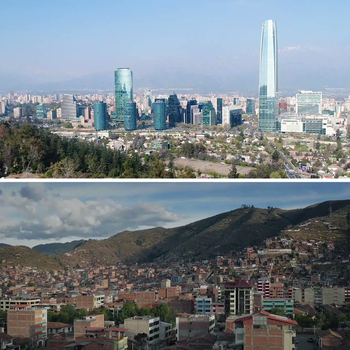 Chile and Venezuela stand at two extremes in terms of development in Latin America. What's the difference? Economic freedom.  Join the conversation with #CatoEcon.