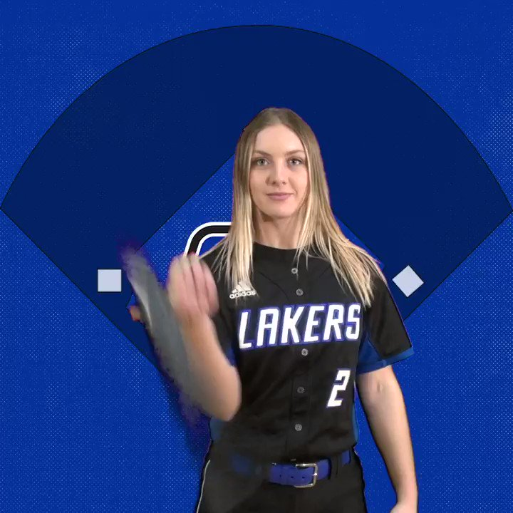 TAYLOR RIEGER!!! She launches her 10th home run of the season as the Lakers jump out to an early 1-0 lead in the top of the 1st! That's also GVSU's 47th (‼️) homer of the season #AnchorUp
