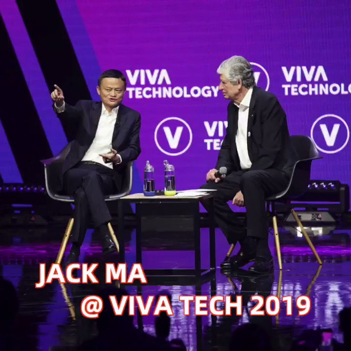 Jack Ma at #VivaTech: Challenges in Making Rules and Laws
