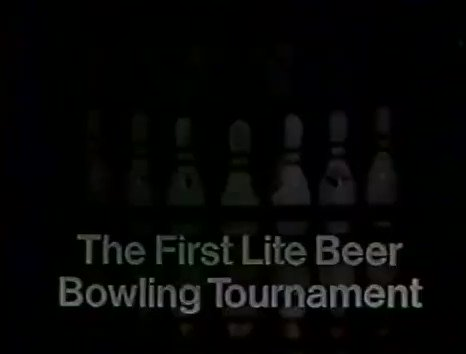 """""""The First Lite Beer Bowling Tournament"""" (Classic 1982 Miller Lite Beer Commercial) An amazing cast of sports legends...and Rodney Dangerfield!"""